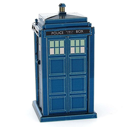 Fascinations Metal Earth Doctor Who Tardis 3D Laser Cut Model - Blue