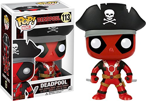 Funko Marvel Pirate Deadpool Pop Vinyl Exclusive No. 113