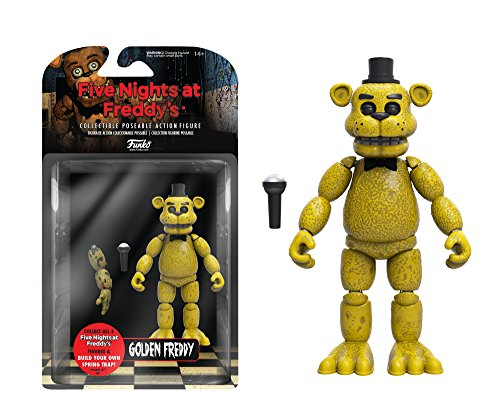 Funko Five Nights at Freddy's Articulated Golden Freddy Action Figure, 5