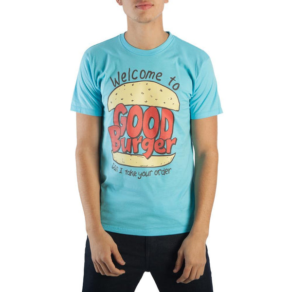 Welcome To Good Burger Home Of The Good Burger Men's Blue T-Shirt