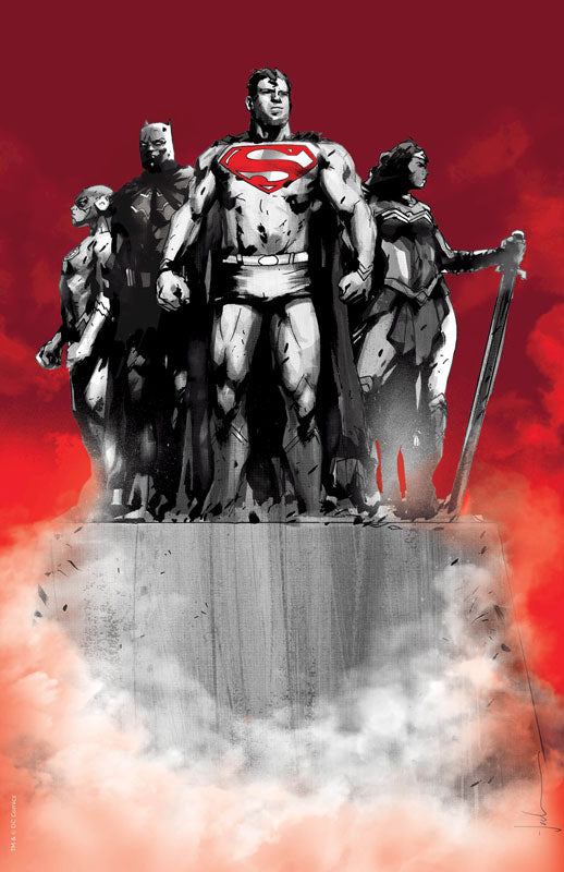 Justice League #1 Jock Jetpack Comics / Forbidden Planet Limited Edition Exclusive Virgin Variant