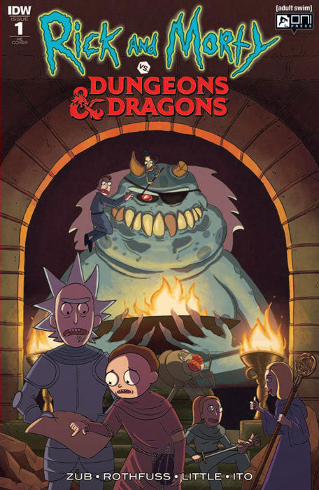 Rick & Morty VS Dungeons & Dragons #1 Jetpack Comics Limited Edition