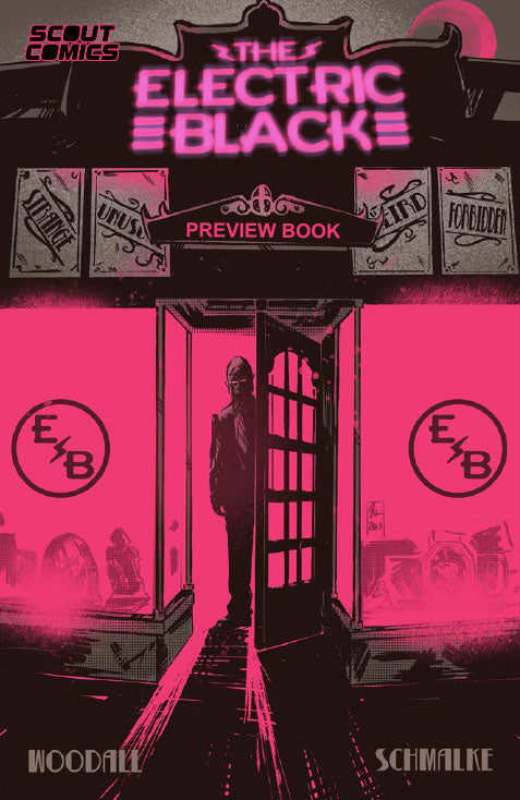 Electric Black Preview Edition Jetpack Comics / Forbidden Planet Limited Edition Exclusive