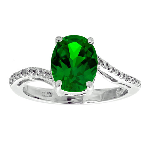 Image of stone-color-created-emerald