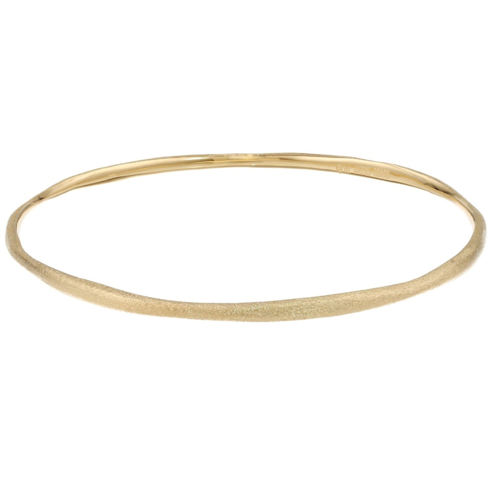 Brass Bangle with Gold Plating