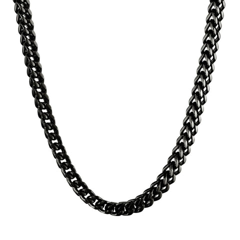 Image of Stainless Steel 6mm Foxtail Chain Necklace, 22""