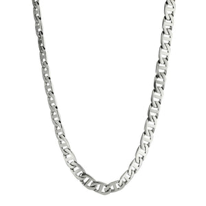 Stainless Steel Mariner Link Chain Necklace