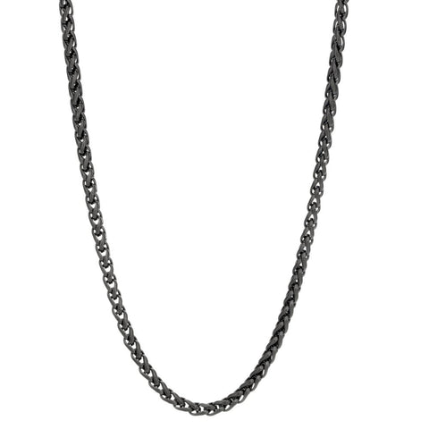 Stainless Steel Wheat Chain Necklace