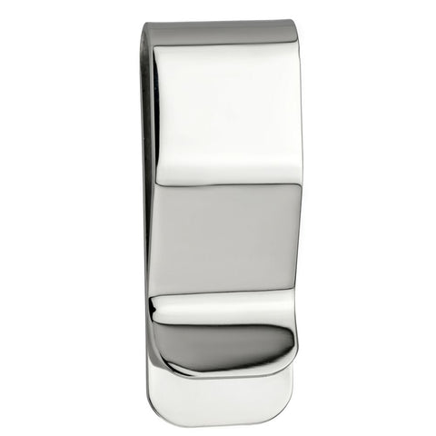 Mens Stainless Steel 19X2 Money Clip