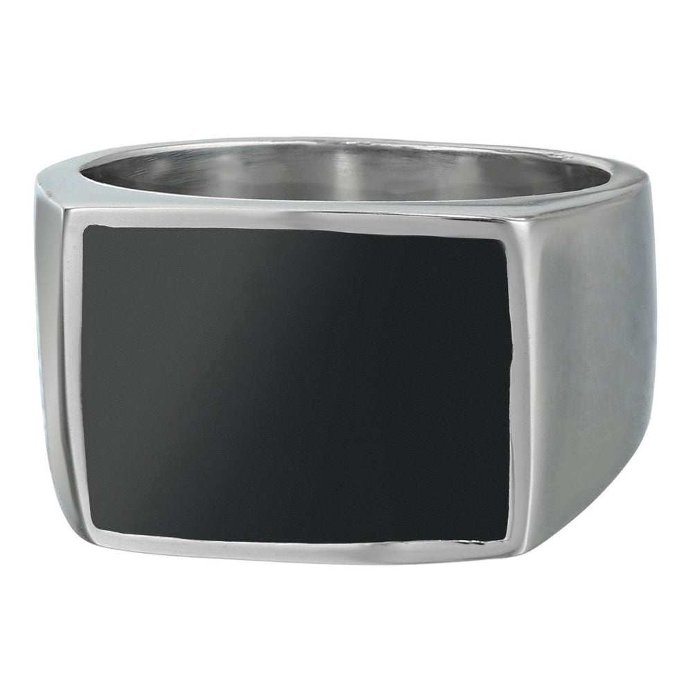 Stainless Steel Ring with Resin