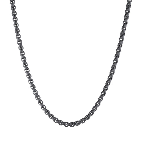 Image of Stainless Steel Wheat Necklace