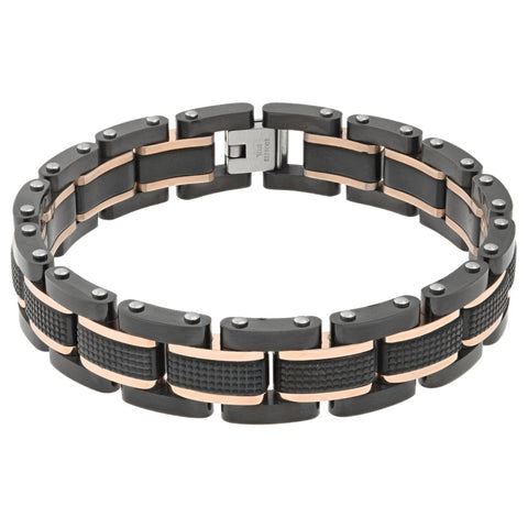 Image of Stainless Steel Textured Bracelet