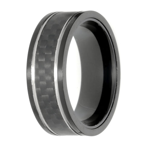 Stainless Steel Forged Carbon Fiber Band