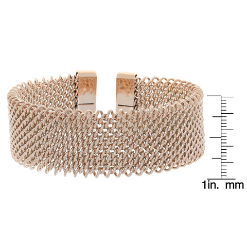 Image of Stainless Steel Mesh Cuff Bangle