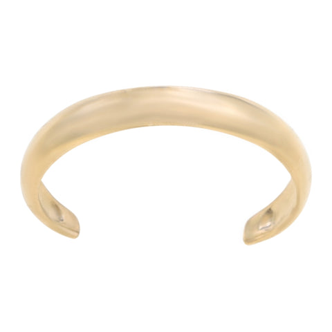 Adjustable Toe Ring in 10K Gold