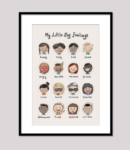 My Little Big Feelings - Wall Print