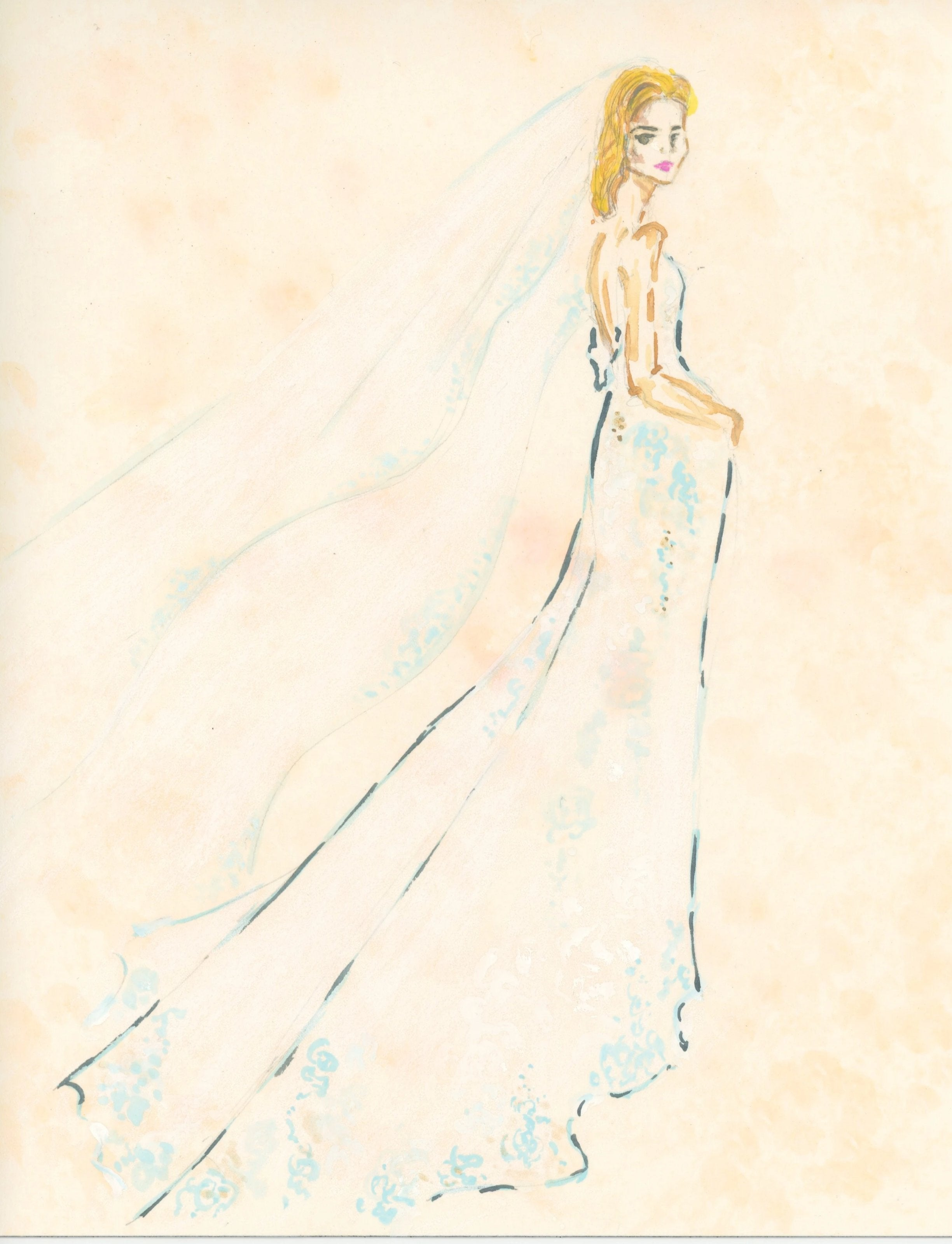 Custom Bridal Illustration