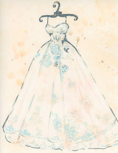 Bridal Gown print #2