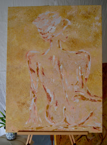 sitting nude no.1