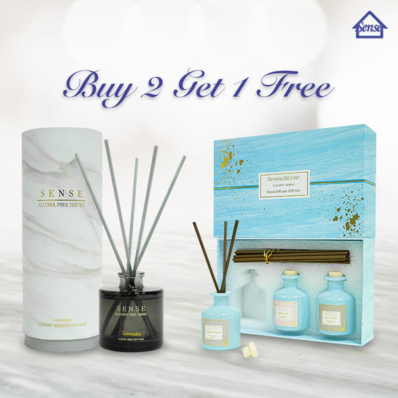[FLASH DEAL] BUY 2 GET 1 FREE REED DIFFUSER SET | FREE DELIVERY - The Sense House