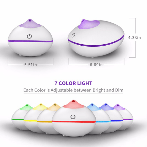 Aroma Diffuser with Remote Control (SH112) - The Sense House