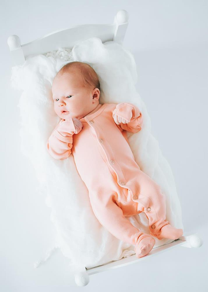 L'ovedbaby | Organic Footed Overall - Coral