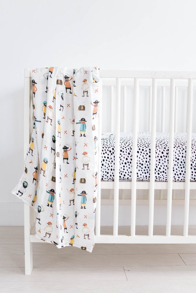 pirate booty swaddle - crib.jpg