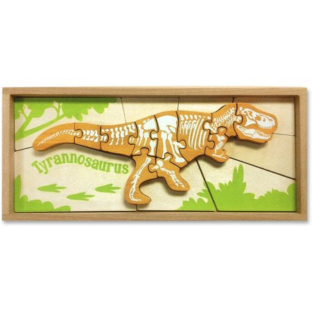Begin Again - Tyranosaurus Dinasour Skeleton Puzzle - Seedling & Co.