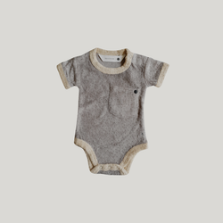 Susukoshi | Teddy Ringer Suit - Sable
