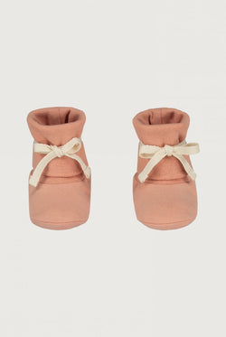 Gray Label | Baby Ribbed Booties - Rustic Clay