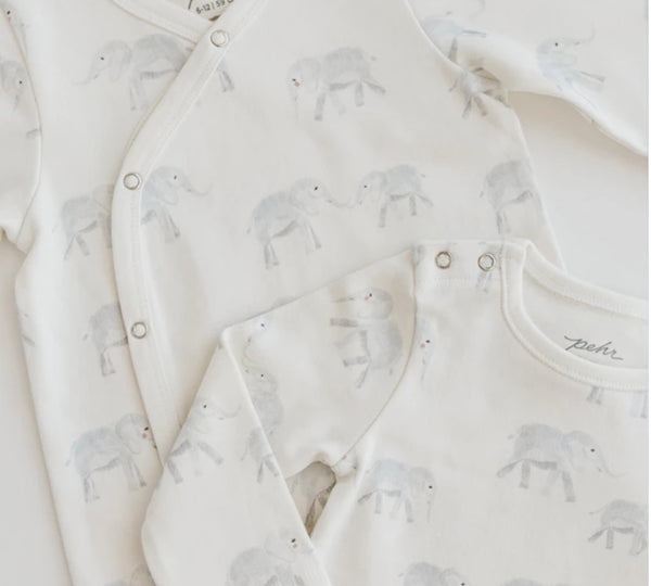 Pehr | Follow Me Elephant Romper