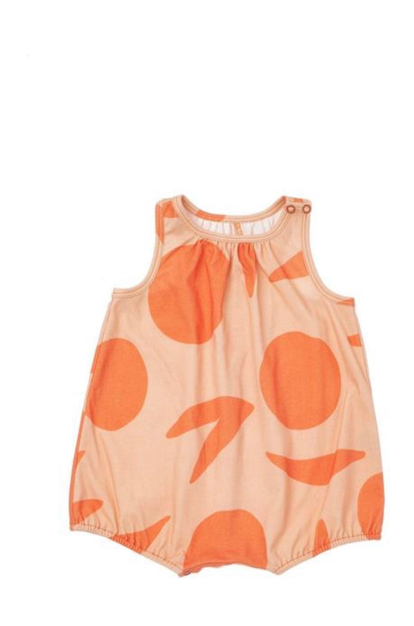 OMAMImini | Bubble Romper - Peach