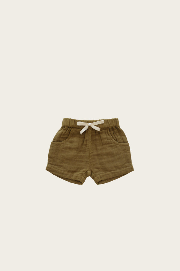 Jamie Kay | Organic Cotton Muslin Lily Short - Gold