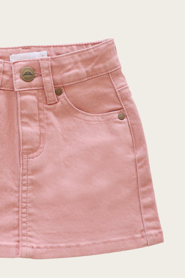 Jamie Kay | Mini Denim Skirt - Rose