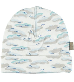 Kidscase - Philly Organic Hat - Light Blue Print