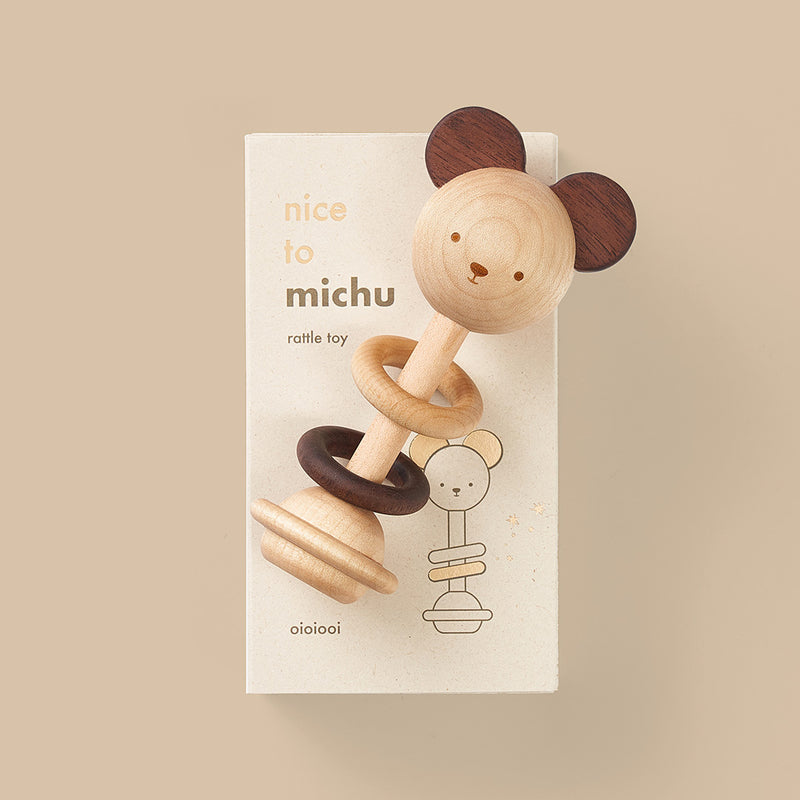 Oioiooi | Nice to Michu Baby Rattle