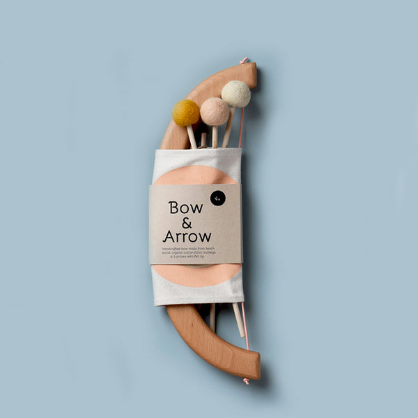 Tangerine Studio | Bow & Arrow Set - Peach