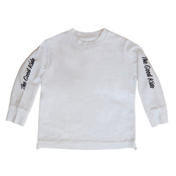 The Good Kids Apparel - Beverly Box LS Tee | White