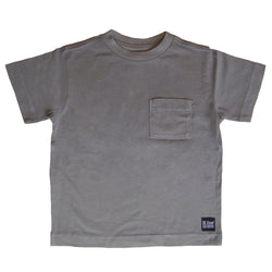 The Good Kids Apparel - Melrose Pocket Tee | Natural Grey
