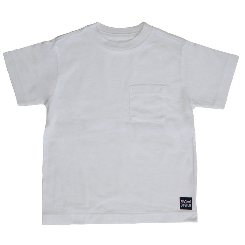 The Good Kids Apparel - Melrose Pocket Tee | White