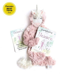 Slumberkins - Unicorn Snuggler Bundle - Rose