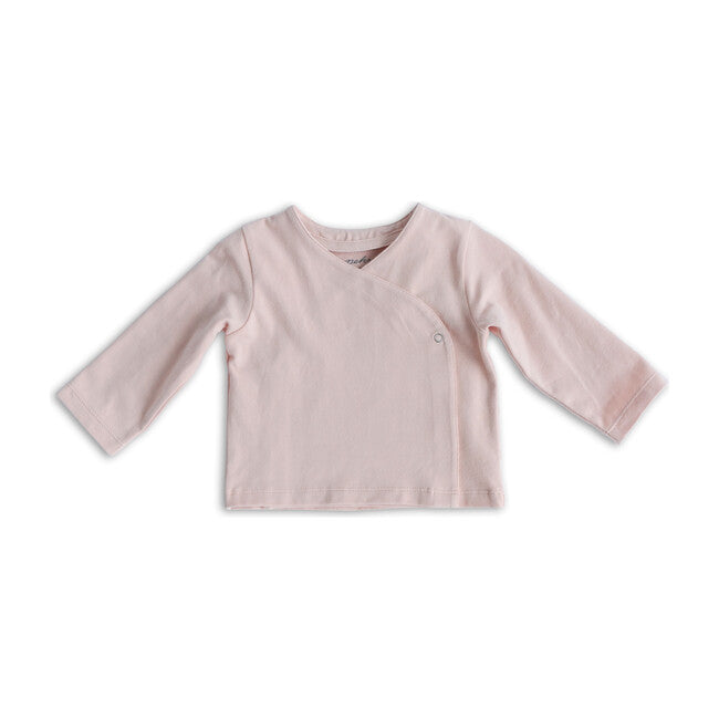 Pehr | Essential Wrap Cardigan - Powder Pink