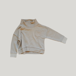 Susukoshi - Funnel Neck Pullover in Rye