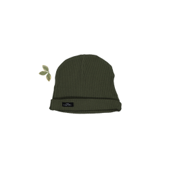 Lovely Littles - The Ribbed Hat / Moss