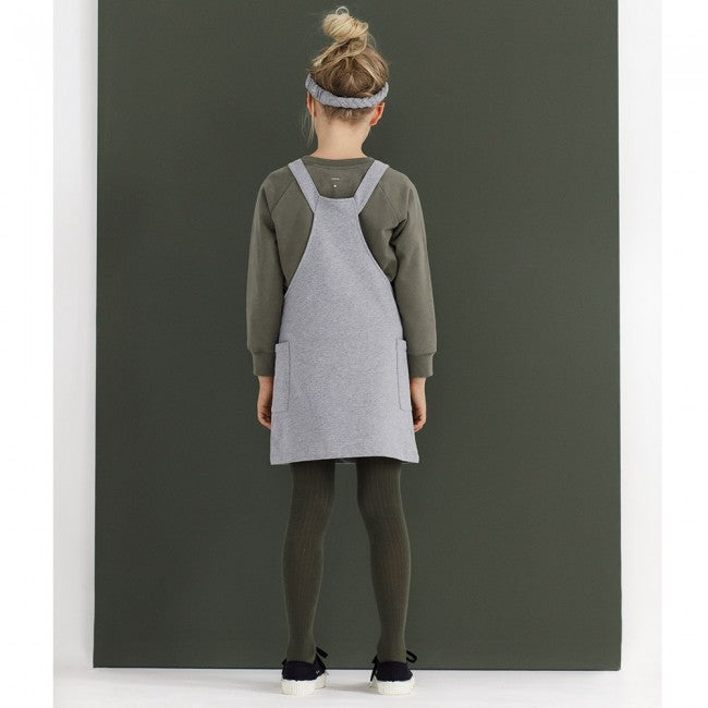 Gray Label | Dungaree Dress - Moss