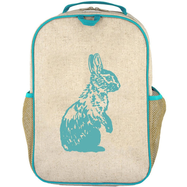 So Young - Aqua Bunny Grade School Backpack