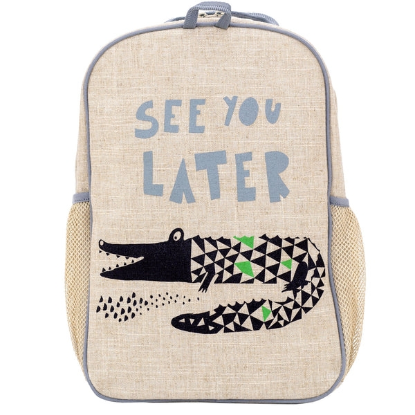 So Young - Wee Gallery Alligator Grade School Backpack