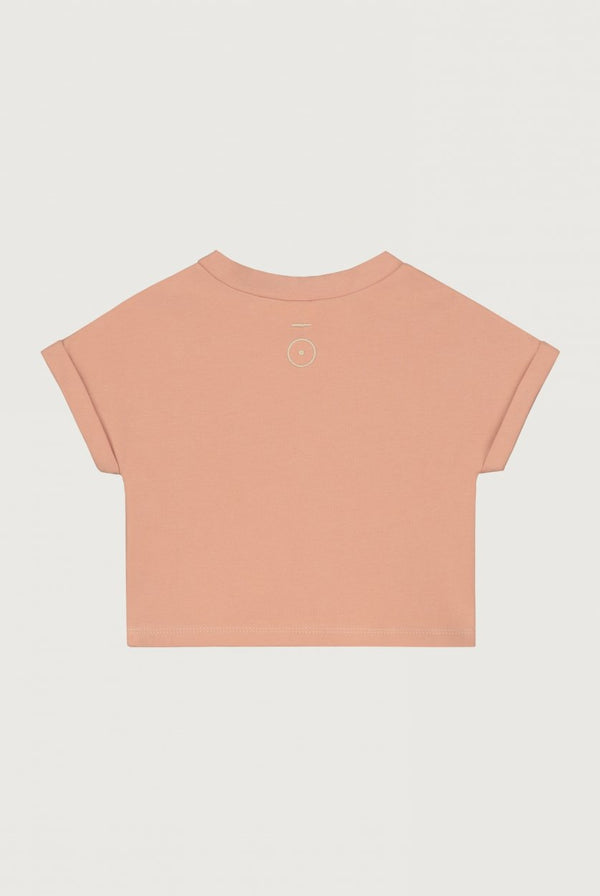 Gray Label | Baby Roll Up Tee - Rustic Clay