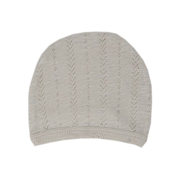 L'ovedbaby | Organic Pointelle Hat - Stone