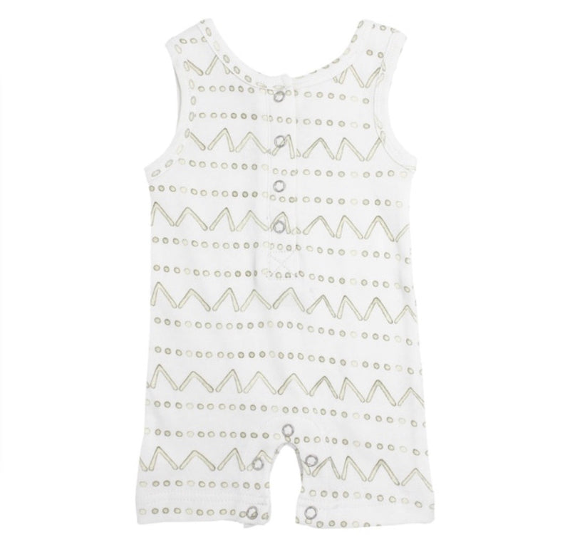 L'ovedbaby | Sleeveless Romper - Sage Mountains